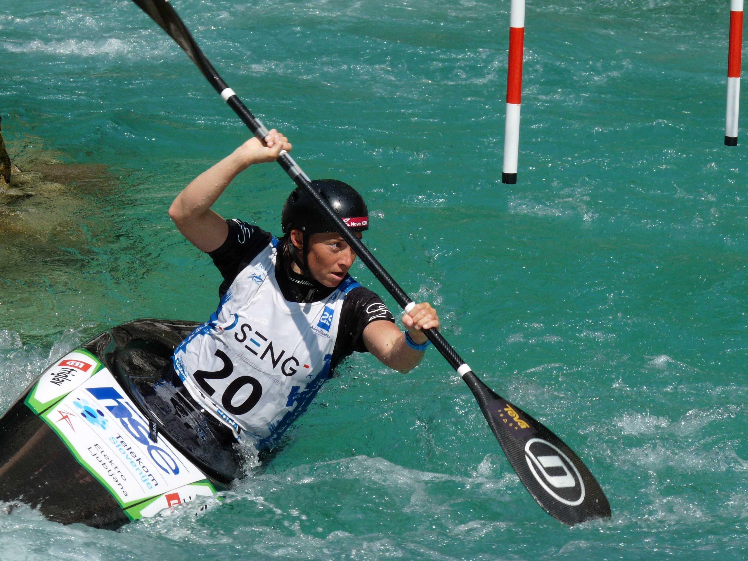 Eva Terčelj, Trnovo, slalom, 27. junij 2020